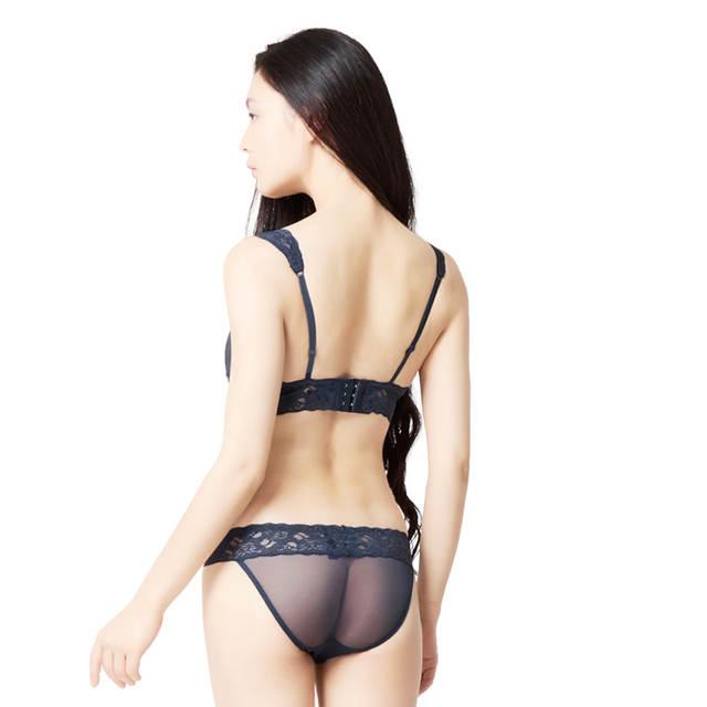 1e05332177 placeholder Sexy Underwear Bra Sets Transparent Underwear Panties Femme Lace  Lingerie Intimates vs Underwear Sets Bra Briefs
