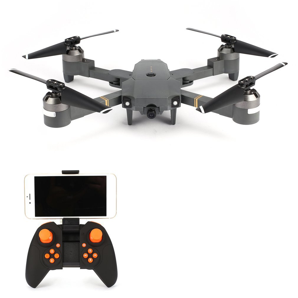 Attop XT-1 2.4GHz 6-axis Gyro RC drone with Wi-Fi 2MP HD Camera Foldable Drone FPV RC Quadcopter with Headless Mode 3D Flips смартфон lg k7 2017 x230 8gb титан моноблок 3g 4g 2sim 5 480x854 android 6 0 1 8mpix 802 11bgn bt gps gsm900 1800 gsm1900 mp3