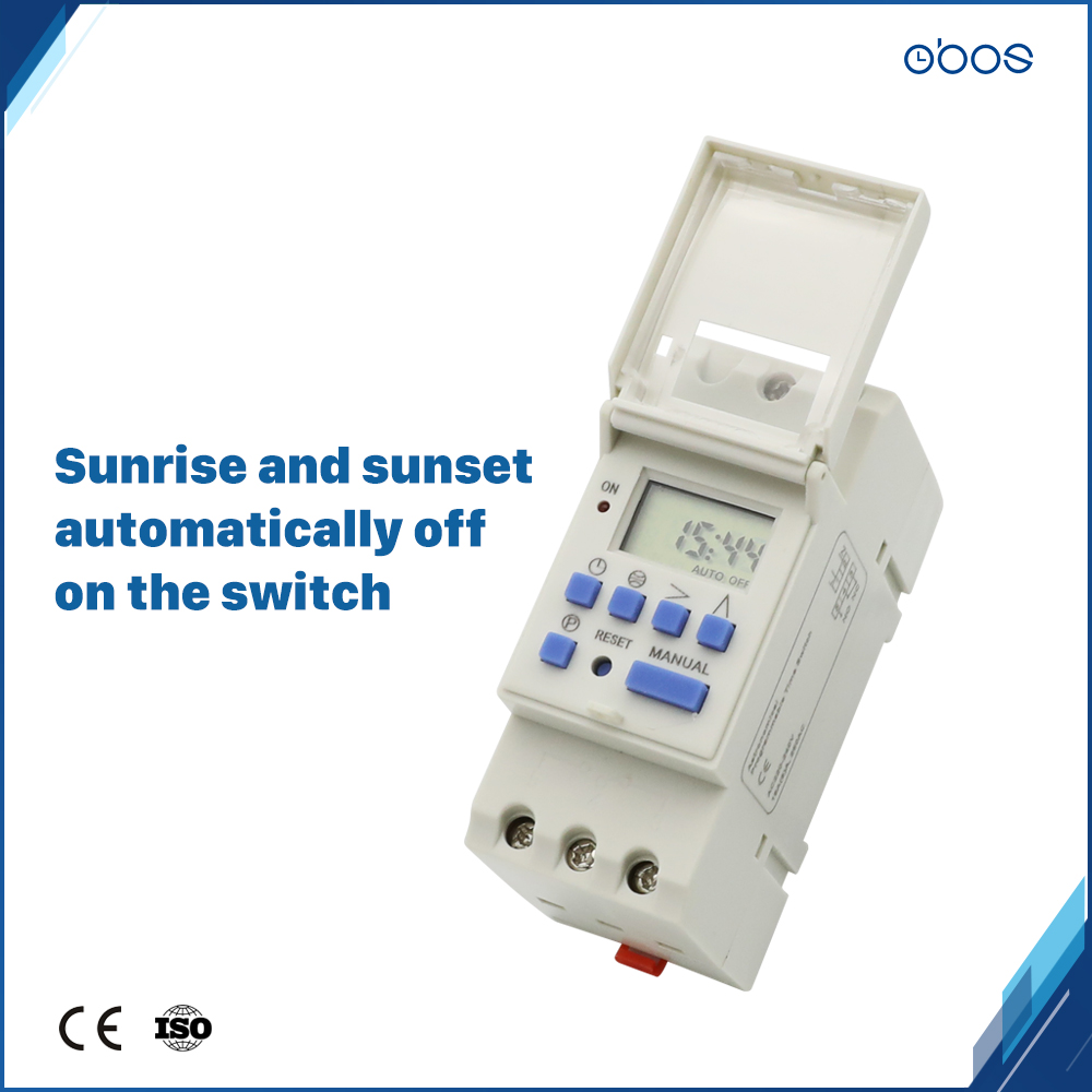 automatically adjustment jet lag programmable timer 24V digital timer with 16times on/off per day time set range 1min 168H