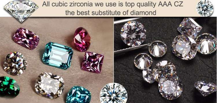 Mobile Zirconia Pingents de 10
