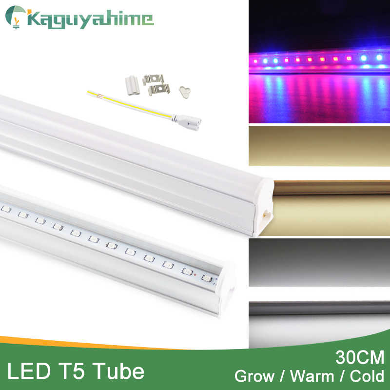 Kaguyahime Integrated Uv Full Spectrum Warm Cold White Led Grow Light T5 Tube 30cm 220v Plant Growth Hydroponic Phyto Grow Lamp