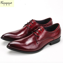 Men Shoes Leather Genuine Italian Designer Pointed Toe Dress Shoes Classic Formal Oxford Shoes For Male Footwear Wedding