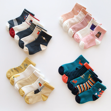 5 Pairs Baby Girls Boys Socks Character Print Kids Socks for Girls Clothing Brand 100% Cotton Christmas Knee Socks Children 5 pairs baby girls boys socks character print kids socks for girls clothing brand 100