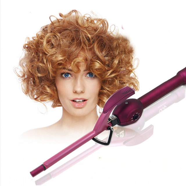 Christmas Gift Professionla Short Hair Curler Styling Tools Mini 9mm Diameter For