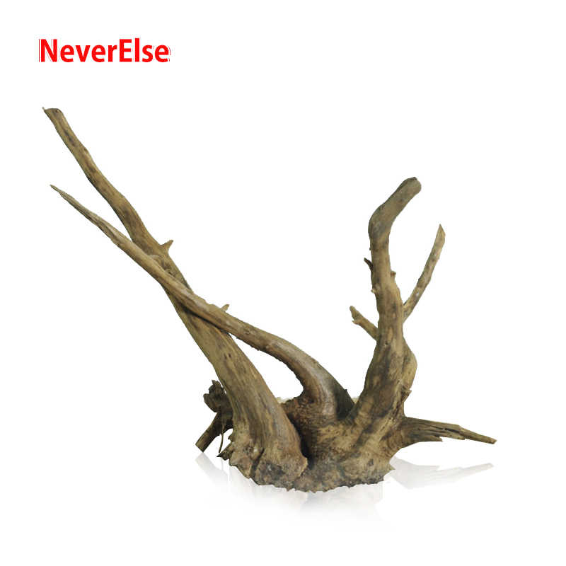 6pcs Aquarium Fish Tank Driftwood Naturale Ceppo di Albero Tronco Pianta Radice Ramo Ornamento Aquario Decorazione Waterscape Accessori