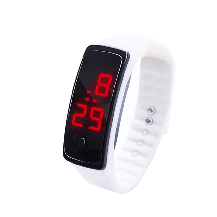 watches kids digital watch for Girls Boys watches LED Digital Display watch kids Students Clock Silica Gel Sports Watch 03*