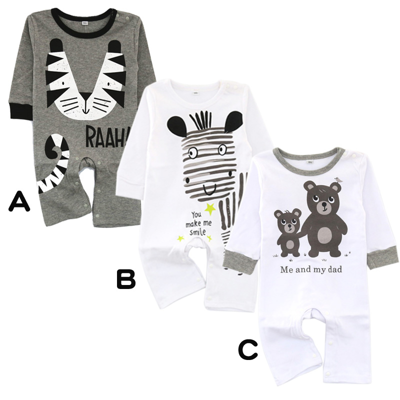Baby Girl Clothes Spring Baby Rompers Cotton Baby Boy Clothes Long Sleeve Newborn Baby Clothes Roupas Bebe Fashion Kids Clothes