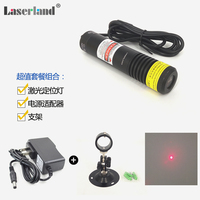 648nm 650nm 100mW Red Laser DOT Module Diode LD Adapter 22X120mm