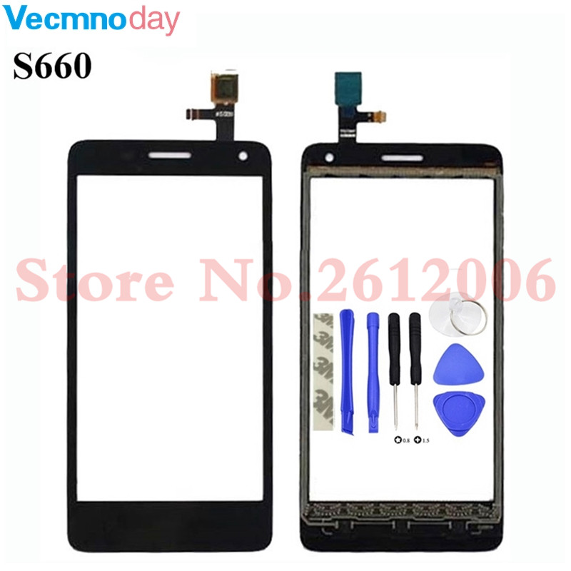 Vecmnoday 4.7 inch Touch Panel For lenovo S660 s 660 Touch Screen Digitizer Front Outer Front touch Glass Lens SensorVecmnoday 4.7 inch Touch Panel For lenovo S660 s 660 Touch Screen Digitizer Front Outer Front touch Glass Lens Sensor