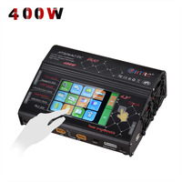 HTRC HT206 AC/DC DUO 400W 40A Dual Port RC Charger Balance Lipo Charger LCD Touch Screen Lilon/LiPo/LiFe/LiHV Battery Discharger