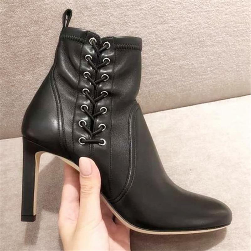 Dames Pour Bottines Pic Stretch Suede Carrés Nouveaux As Talons Bottes Sur De Designer Pic Slip Pompes as Chaussures Cheville Mujer Femmes Zapatos q5TCv