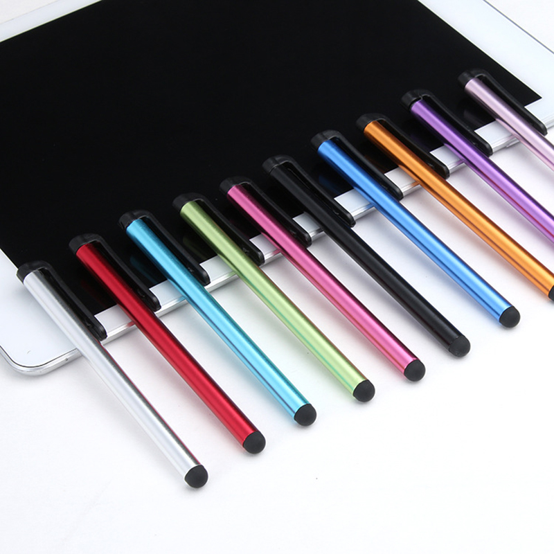 10pcs/lot Capacitive Touch Screen Stylus Pen for IPhone IPad IPod Touch Suit for Huawei and Other Smart Phone Tablet PC Pen mini capacitive touch screen stylus pen w anti dust plug for iphone ipad ipod black