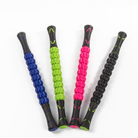 Hot Muscle Roller Ball Anti Cellulite Massage Roller Foot Back Barbed Massage Stick Deep Slimming Pressure Yoga Tool