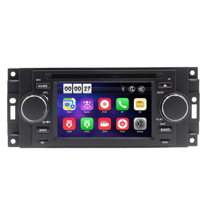 5 Car DVD Player For Chrysler 300C PT Cruiser Dodge Ram Jeep Grand Cherokee With GPS Navigation Radio Bluetooth iPod USB Map chrysler pt cruiser 2 0 i 16v