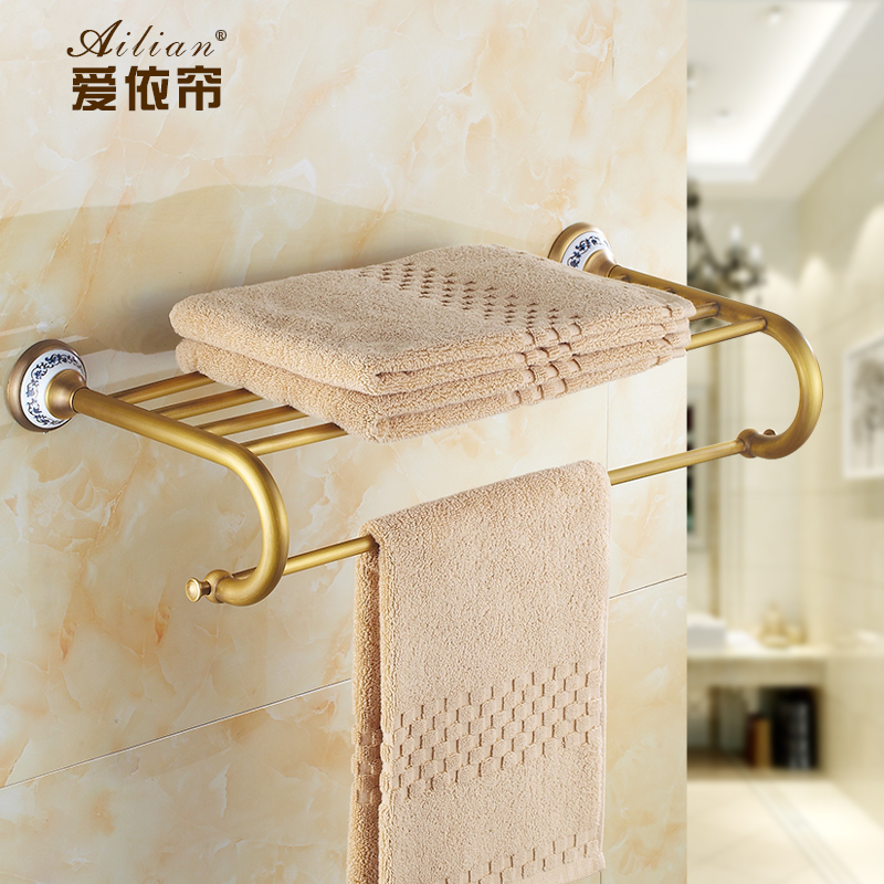 Bathroom Accessories Bath Hardware Blue White Porcelain Bathroom Accessories Bath Towel Holder Set Towel Rack Towel Bar