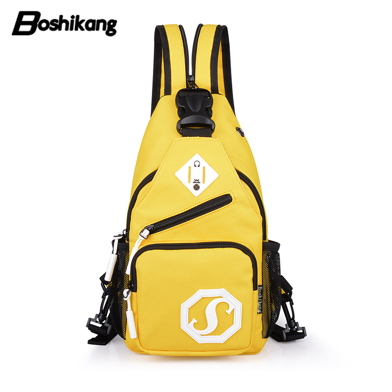 ff4daf4283d Detail Feedback Questions about Boshikang Fashion Sling Chest Bag  Waterproof Crossbody Bag Women men Shoulder Daypack Teenager Large Capacity Chest  Pack ...