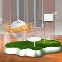 CRESTGOLF Magnetic Levitating Floating Wireless Portable USB Golf Ball Shaped Bluetooth Speaker Boombox