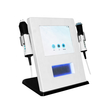 2 in 1 anti-aging wrinkle removal machine skin tightening machine face lift skin rejuvenation home spa salon use skincare beauty