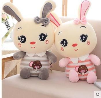 Новый милый плюшевый кролик игрушка кукла чтобы отправить детей девочек день рождения