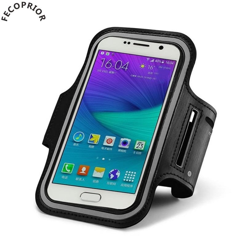 Fecoprior Armband for HUAWEI Mate 8 / Mate 7 6inch Sports Case Running Belt Cover Outdoor Bags GYM Bracelet Bolsa