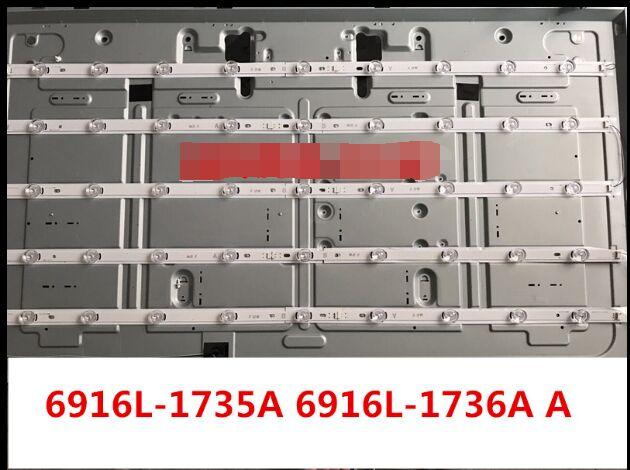 1030mm LED Backlight Lamp Strip 9leds For LG Innotek DRT 3.0 50