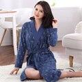 2016 de invierno de las mujeres del camisón de satén batas pijamas de la correa ropa de dormir camisón albornoz del kimono del traje corto