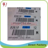 Customized      Cheap price security super fragile destructible label