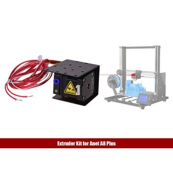 Kit de alimentación de alimentador remoto extrusor de impresora 3D con tubo de calentador de 1,5 metros cabezal de boquilla de 0,4mm 42 Motor paso a paso de Metal extrusora