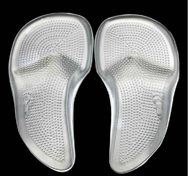 b03122c68b GEL 3/4 Arch Support pad for High Heels,Flat Feet Orthotics,Orthopedic  Insoles Corrector for Shoes Woman 34-40yards Feet Care