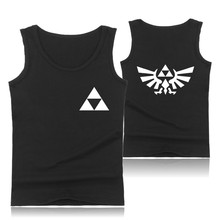 The Legend of Zelda Fashion Summer Tank Top Men Sleeveless Shirt and Men bodybuilding Summer Vests 4XL