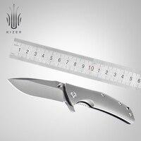 Kizer tático faca de dobramento ao ar livre para a caça acampamento útil ferramentas manuais ki3404a3 actibantam