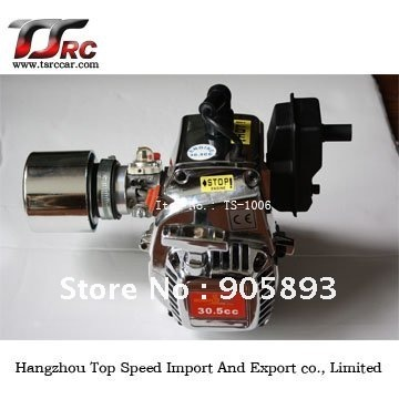 30,5 куб. См хромированный двигатель/двигатель с импортным NGK spark и с карбулятором, Хромовый воздушный фильтр для NGK spark walbro carbulator для Rov