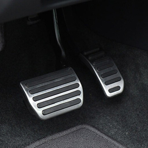 Image 1 - Car styling ,Stainless steel Gas pedal Brake Pedal For VOLVO XC60 XC70 V60 V70 S40 S60 S80 C30,Car Accessories