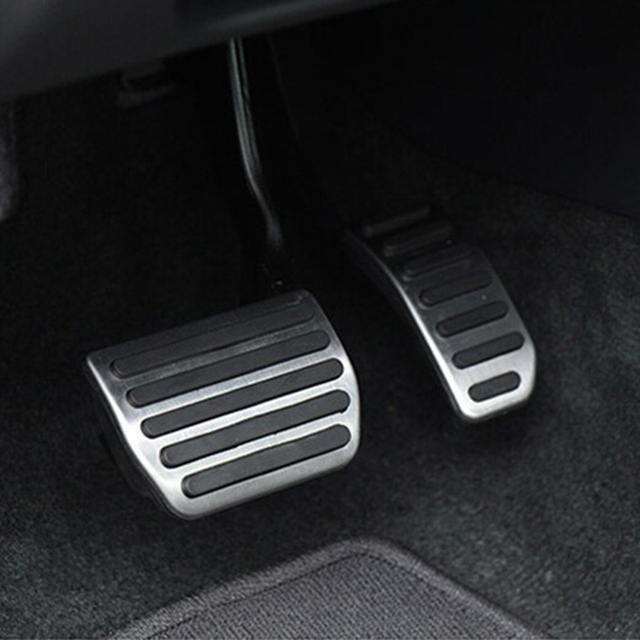 car styling stainless steel gas pedal brake pedal for. Black Bedroom Furniture Sets. Home Design Ideas