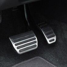 Estilo do carro, pedal de freio gás aço inoxidável para volvo xc60 xc70 v60 s40 s60 s80 c30, acessórios do carro