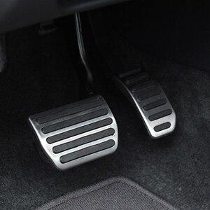 Image 1 - רכב סטיילינג, נירוסטה גז דוושת בלם דוושת עבור וולוו XC60 XC70 V60 V70 S40 S60 S80 C30, אביזרי רכב