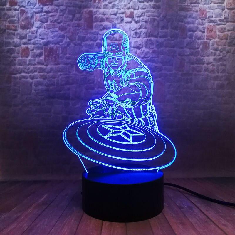 avengers-end-game-figma-model-3d-nightlight-led-7-colors-changing-light-font-b-marvel-b-font-captain-america-toys