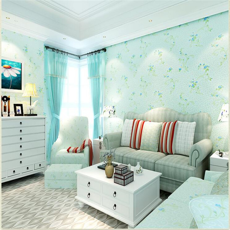 beibehang Rural non woven bedroom sweet and romantic pink background wall paper wallpaper papel de parede wallpaper 3d tapety beibehang mediterranean blue striped 3d wallpaper non woven bedroom pink living room background wall papel de parede wall paper