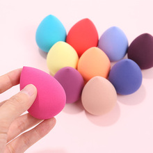 1Pcs Makeup Sponge puff Non Latex changeable after water 60*40mm Soft Waterdrop Shape Cosmetic Puff Smooth Powder