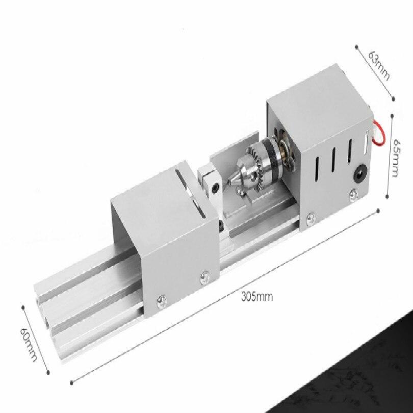 Купить с кэшбэком 220V 100W 12-24VDC mini lathe machine mini torno de metal mini torna makinesi wood lathe tool wood machine making or carving