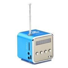 Portable Mini TD-V26 Speaker Micro SD TF Speaker MP3 Music Player FM Radio USB Altavoz Stereo PC Reproductor For MP4 PC Computer