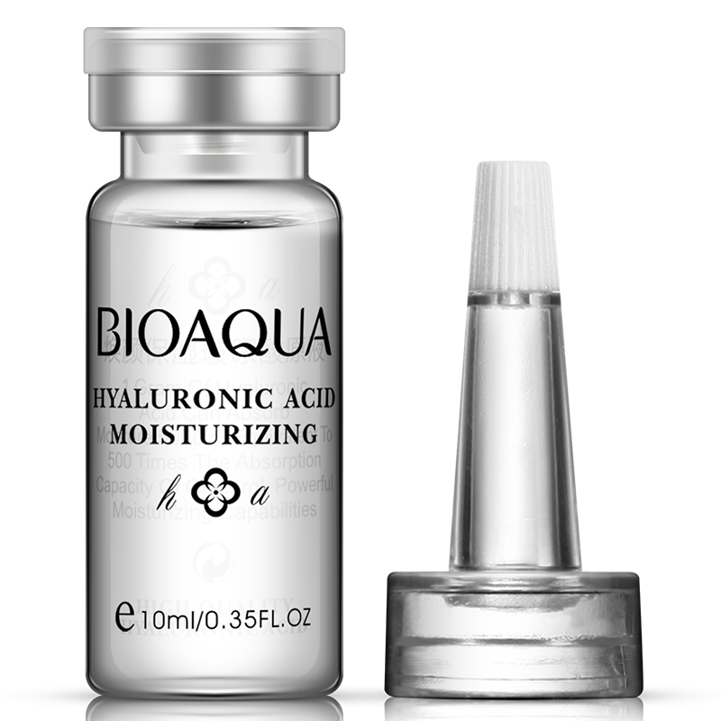 BIOAQUA Pure Hyaluronic Acid Serum Liquid Hyaluronic Acid Injections Essence Whitening Lightening Facial Serum Face Cosmetics
