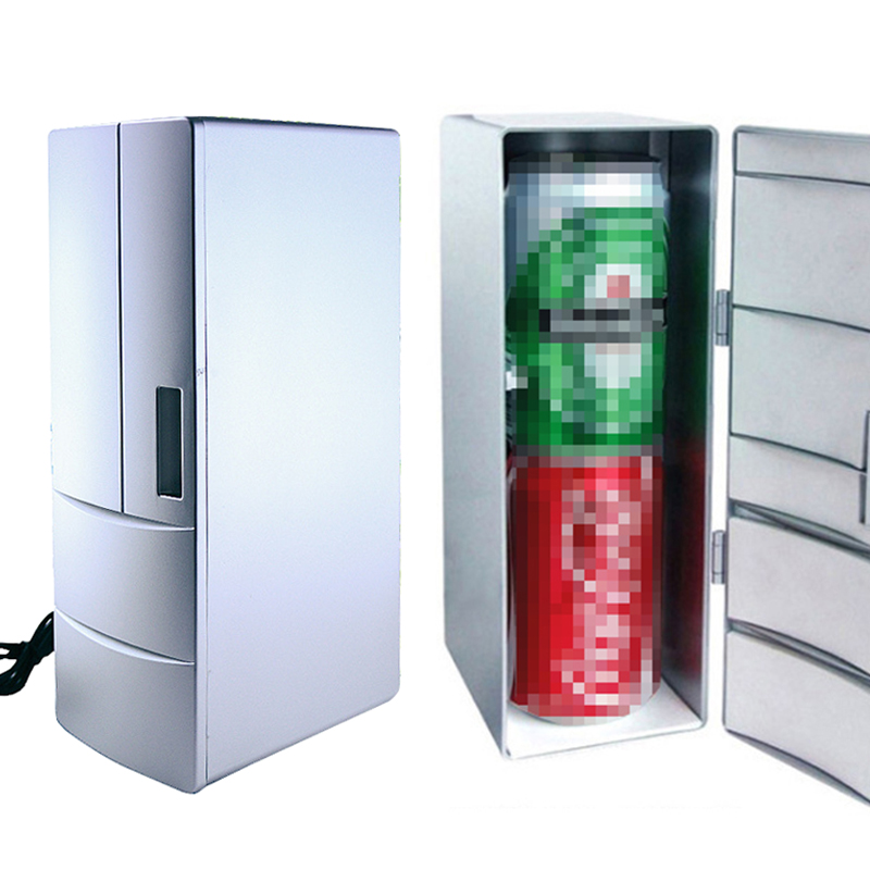 USB Mini  Refrigerator Office Creative Small Refrigerator Insulin Medicine Refrigeration Cosmetics Refrigerator Supply