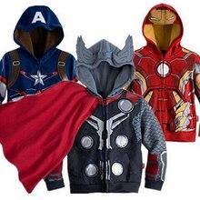 Kids cartoon Clothes baby outerwear for Spring Autumn Retail Children's Coat boy