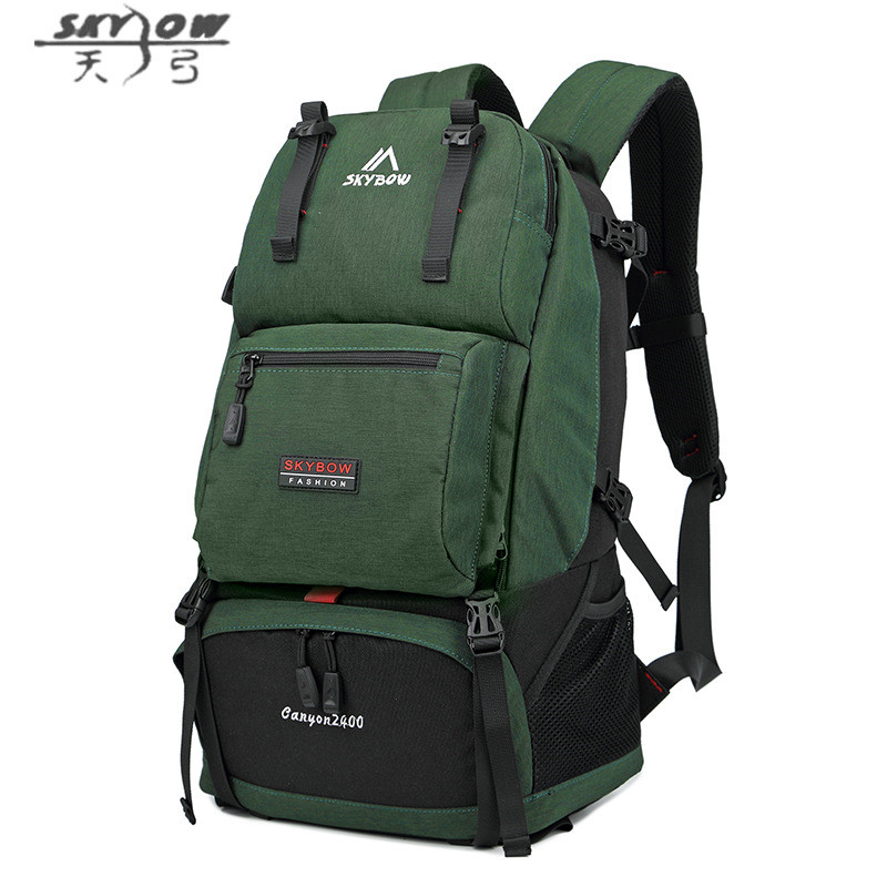 9c465b04eaad 2018 New Fashion Large Capacity 27L H Bag Men High Quality Waterproof  Travel Backpack Male Multi-Function Climb Bag 8819