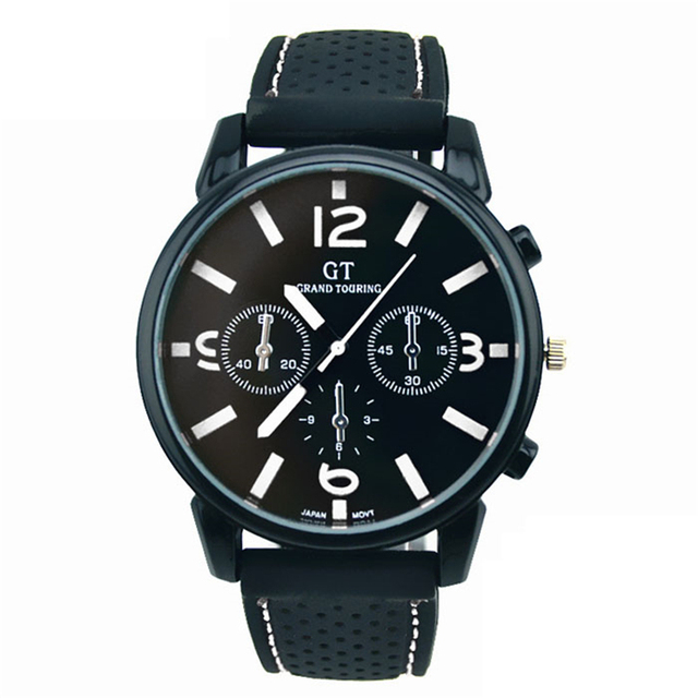 Male Fashion Stainless Steel  Wrist Watch