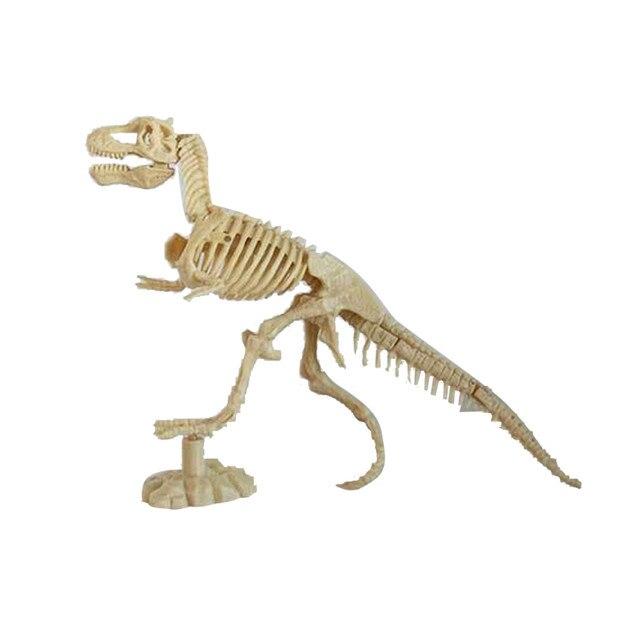 Modelo de esqueleto de dinossauro Dinossauro deformação Ciência Kit Cavar Dino Escavação de Fósseis e Montar Brinquedos para Crianças D300115