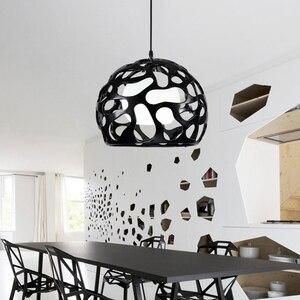 Image 4 - Modern Avize Işıkları Lamba oturma yemek odası restoran otel için cilalar avizeler aydınlatma armatürü