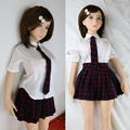 Athemis roupa roupa da boneca do amor boneca de silicone boneca sexy encantadora do estudante estilo custom made tamanho