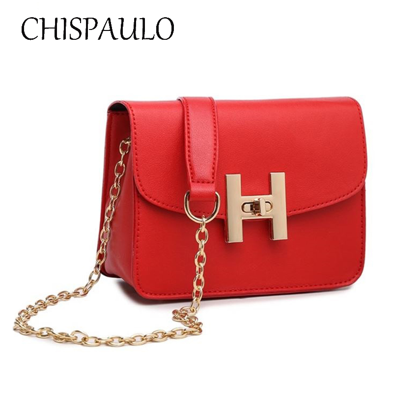 2018 Spring and summer Fashion Women Messenger Bag New Brand Leather Female Shoulder Bag Mini Lady Small Chain Cross Body Bag 2016 fashion spring and summer crocodile pattern japanned leather patent leather handbag one shoulder cross body bag for women
